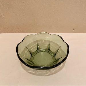 Vintage green dish